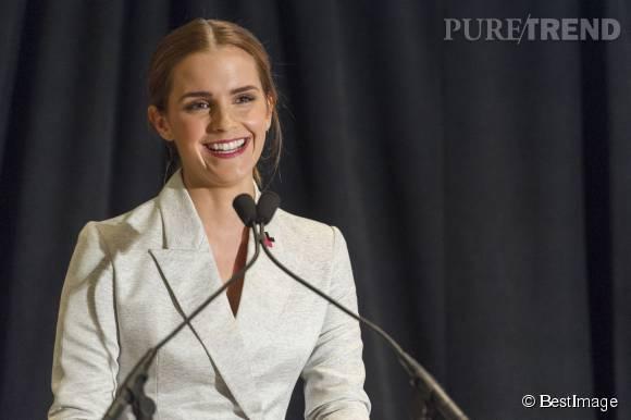 Emma Watson faisait un brillant discours à la tribune de l'ONU en 2014.