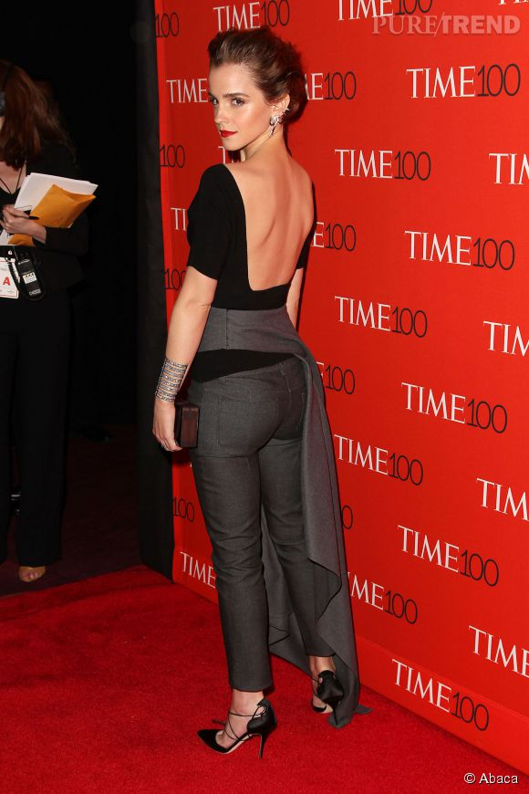 Emma Watson au gala TIME 100 organisé à New York le mardi 21 avril 2015.
