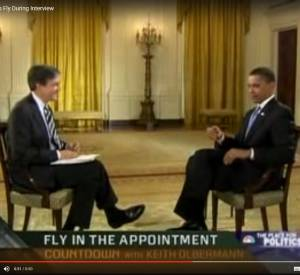 Obama et la mouche.