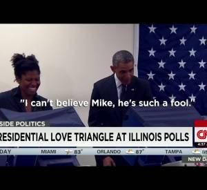 Barack Obama et le petit-ami jaloux.