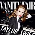 Taylor Swift en une du September Issue de  Vanity Fair .