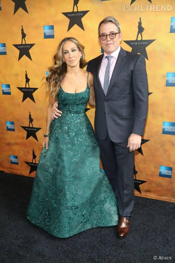 Matthew Broderick, le mari de Sarah Jessica Parker depuis 1997, était très fier de son épouse et on le comprend !