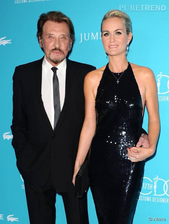 Laeticia et Johnny Hallyday fêtaient les 11 ans de leur fille, Jade, à Saint-Barth.