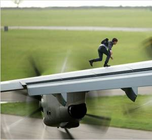 Mission Impossible : Rogue Nation, Tom Cruise dans tous ses états
