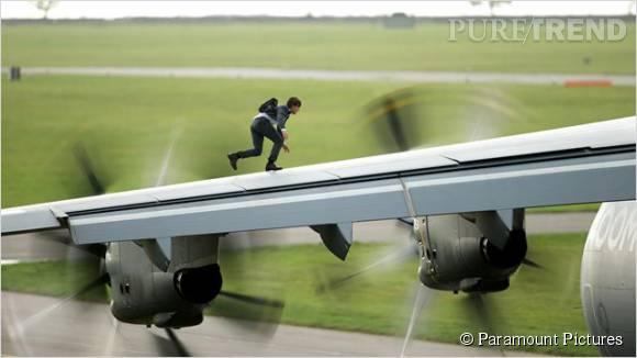 """Dans """"Mission Impossible : Rogue Nation"""", Tom Cruise a effectué lui-même ses cascades."""