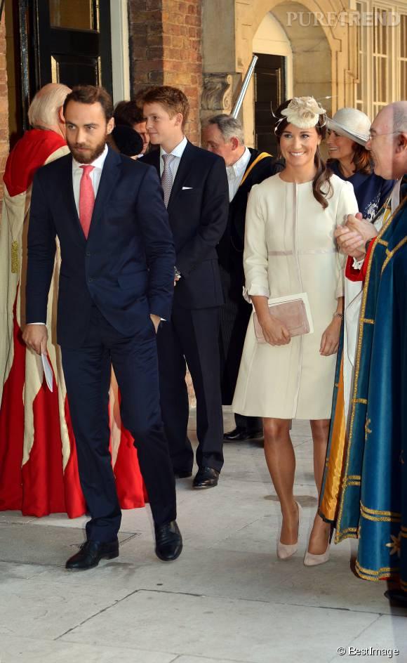 James et Pippa Middleton sont très proches de leur grande soeur Kate, la duchesse de Cambridge.