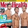 Florent Manaudou a récemment pris la pose en une de  Men's Health .
