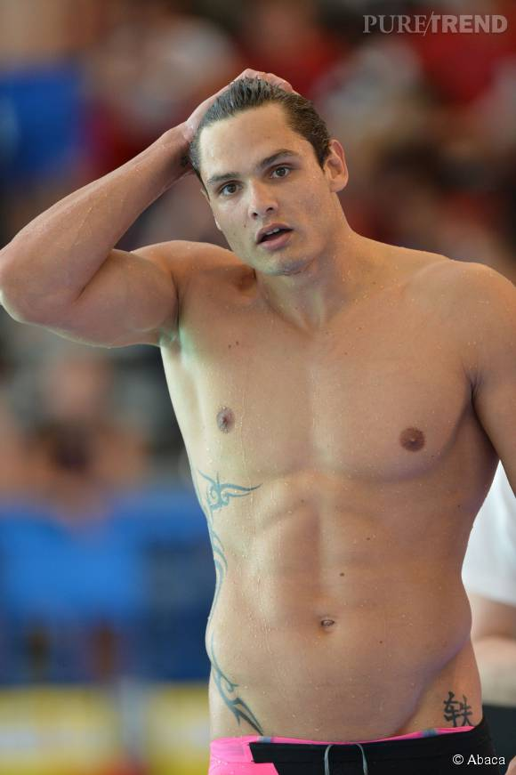1,99m pour 99 kilos, Florent Manaudou a un physique hors norme.