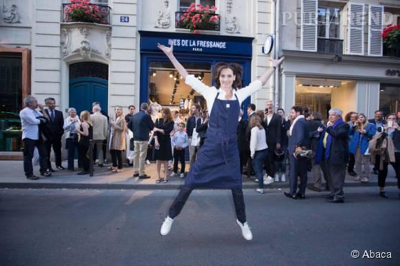 Inès de la Fressange a ouvert sa propre boutique en mai 2015....