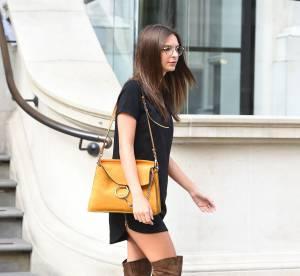 Emily Ratajkowski : en mini robe et cuissardes, elle fait sensation !