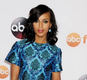 "Kerry Washington : la star de ""Scandal"" travaille pour Barack Obama"