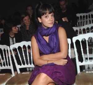 Lily Allen en 2007, plus ronde que maintenant.