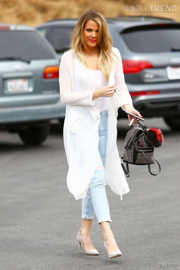 Khloe Kardashian, agressée en pleine rue par son ex.