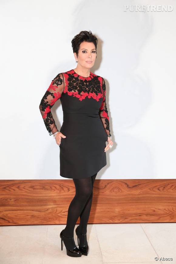 Kris Jenner, la maman du clan Kardashian-Jenner pose en couverture du magazine Haute Living.