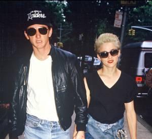 Sean Penn et Madonna, un couple culte des années 80.