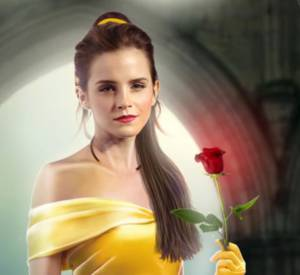 Emma Watson transformée en Belle grâce au photoshop d'un grand fan.