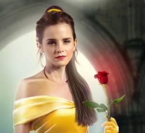 Emma Watson transformée en Belle grâce au photoshop d'un grand fan.