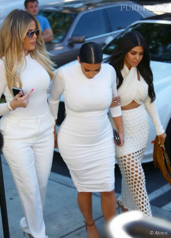 Les inséparables soeurs Kardashian.