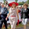 Toujours aussi chic, la reine Maxima des Pays-Bas mérite amplement sa deuxième place.
