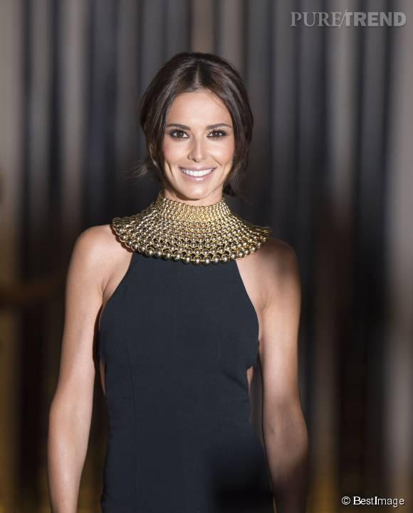 Cheryl Cole, souriante et rayonnante.