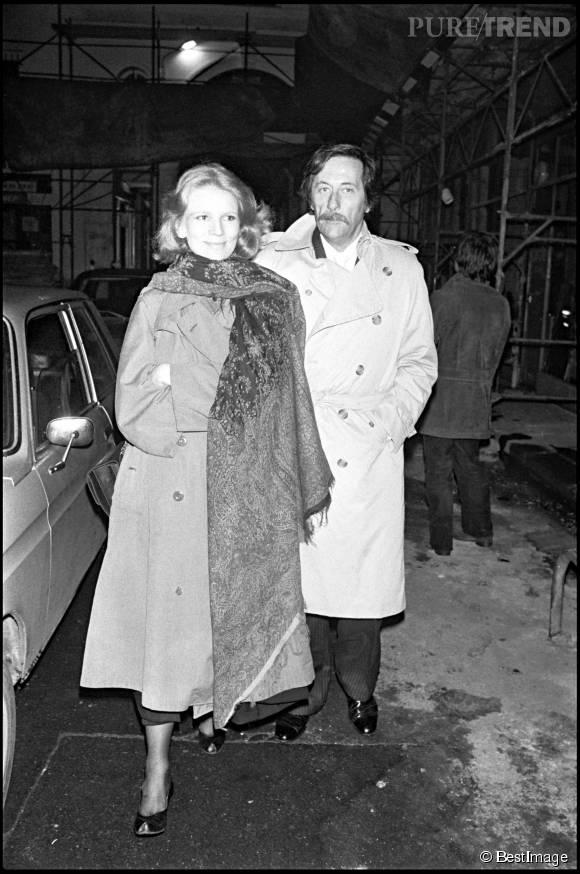 Jean Rochefort et Nicole Garcia en 1981.