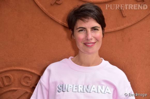 Alessandra Sublet se confie à Paris Match.