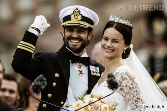 La princesse Sofia de Suède a épousé le prince Carl Philip le 13 juin 2015.