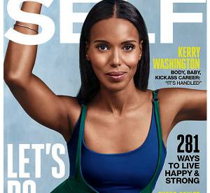 Kerry Washington est la cover girl de Self Magazine du mois de septembre 2015.
