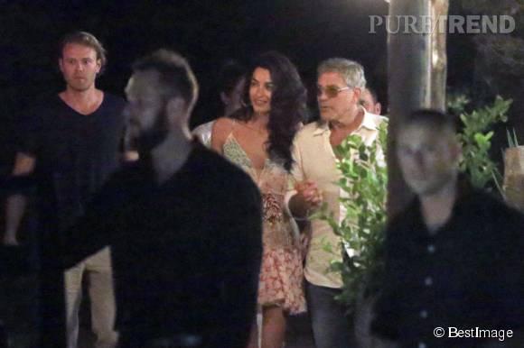 George et Amal Clooney, des vacances sexy à Ibiza