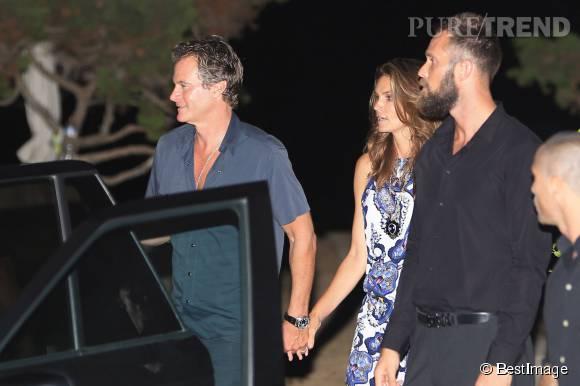 Un dîner entre amis pour Cindy Crawford, Rande Gerber, Amal et George Clooney