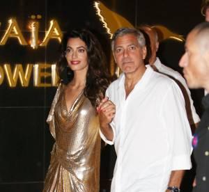 Amal Clooney : ultra sexy en robe mini pour une soirée tequila à Ibiza