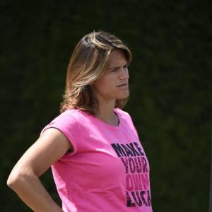 Amélie Mauresmo avait annoncé sa grossesse en avril dernier.
