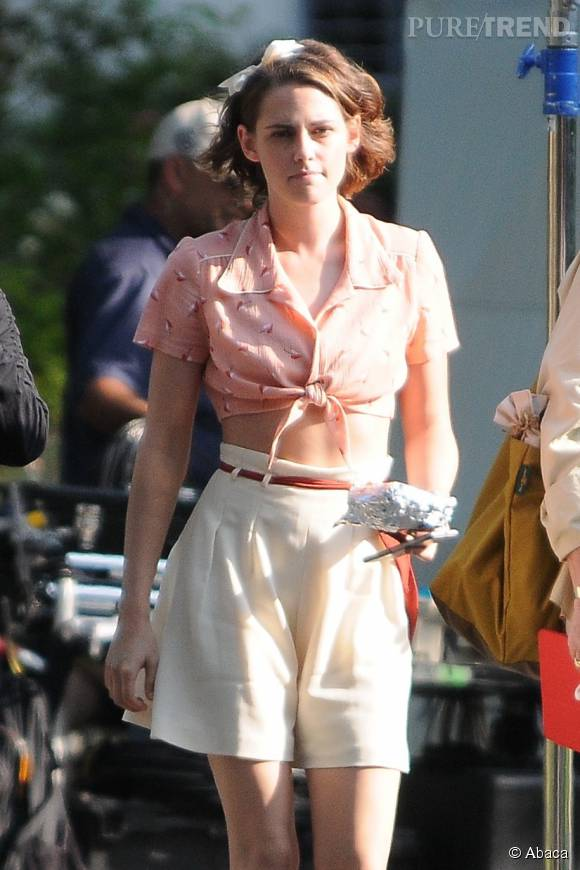 Kristen Stewart, fille sage mais pas trop sur les plateaux de tournage !