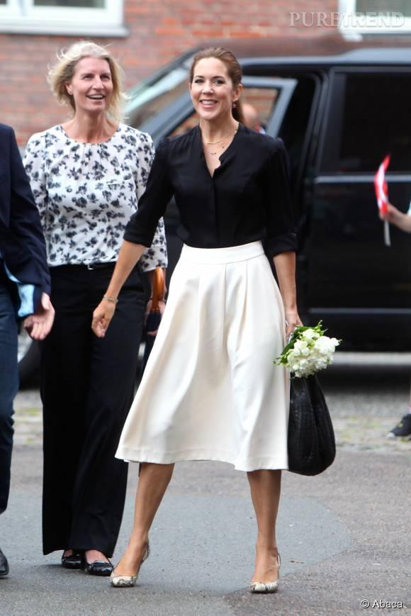 """Mary de Danemark participe à l'événement """"Loving Measure"""" avec la Mary Foundation le 25 août 2015 à Copenhague."""
