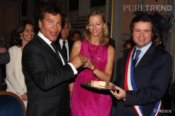 """Igor Bogdanov et Amélie de Bourbon Parme se sont dits """"oui"""" en 2009."""