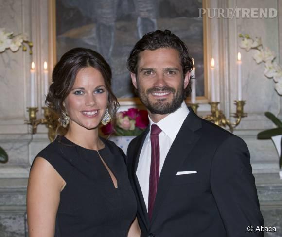 La princesse Sofia de Suède et son mari le prince Carl Philip visitent le duché de Värmland le 26 août 2015.