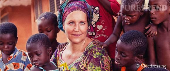 Lisa Lovatt Smith, fondatrice de l'association OAfrica.