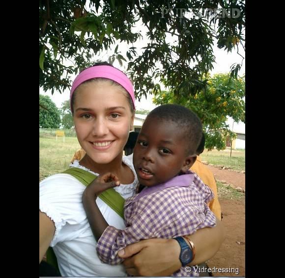 Margherita Missoni vient en aide aux enfants du Ghana.