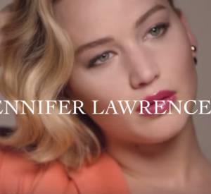 Jennifer Lawrence, égérie du rouge à lèvres Dior Addict.