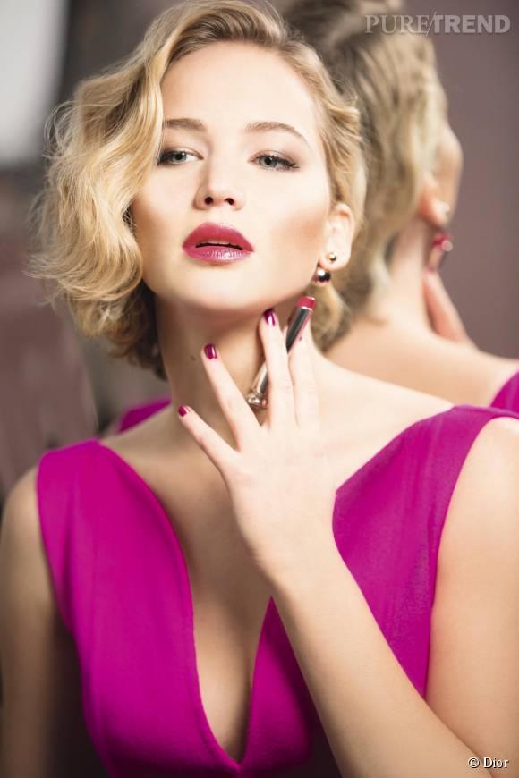 Jennifer Lawrence, femme fatale pour Dior Addict.