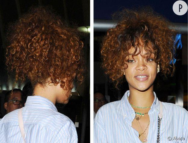 Rihanna ou l'art de la queue de cheval floue.
