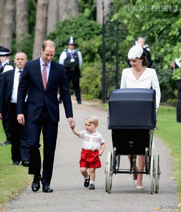 Il y a quelques mois, Kate Middleton et le prince William baptisaient leur fille Charlotte.