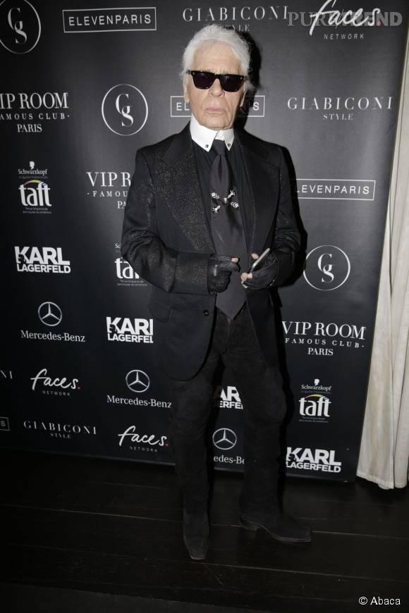 Karl Lagerfeld sera l'invité du divan de Marc-Olivier Fogiel.
