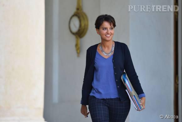 Najat Vallaud-Belkacem a fait une rentrée remarquée.