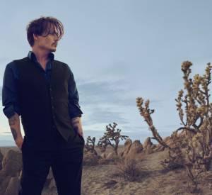Johnny Depp dans la campagne pour le parfum Sauvage de Dior.