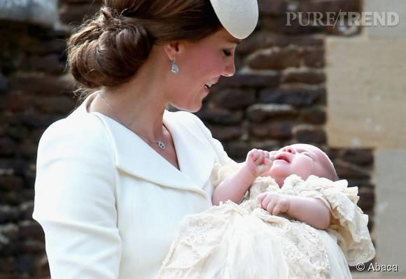 Kate Middleton a donné naissance à la princesse Charlotte en mai dernier.