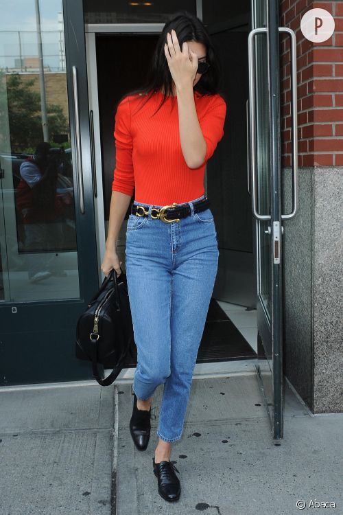 Kendall Jenner, son look boyish à copier.