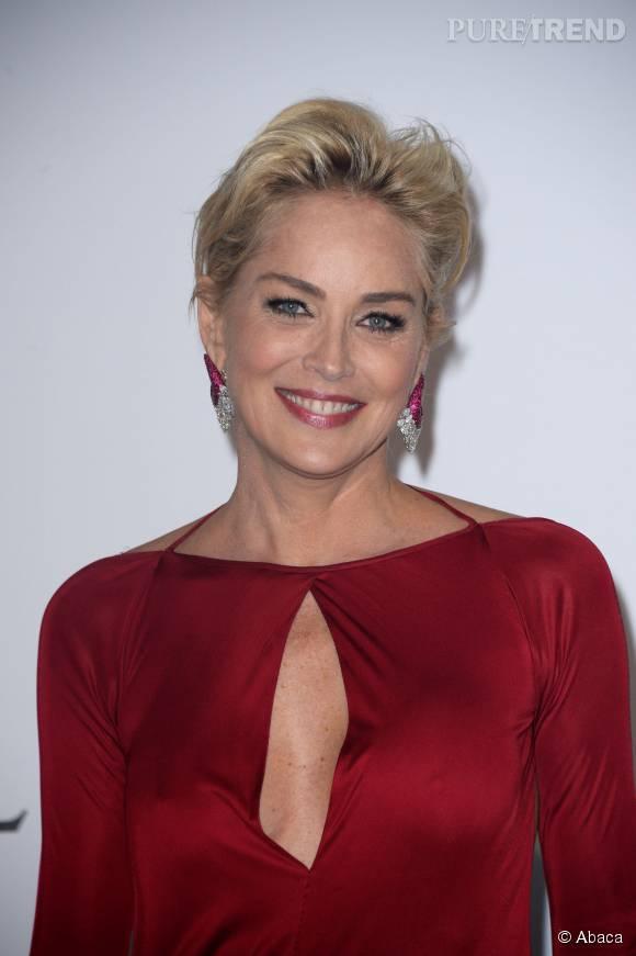 Sharon Stone est toujours aussi sexy à 57 ans.