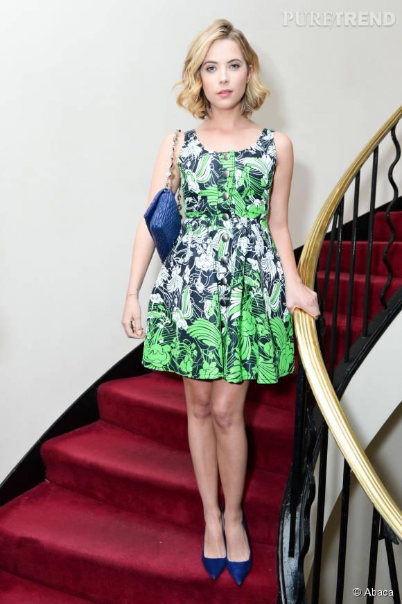 Ashley Benson porte aussi très bien le preppy.
