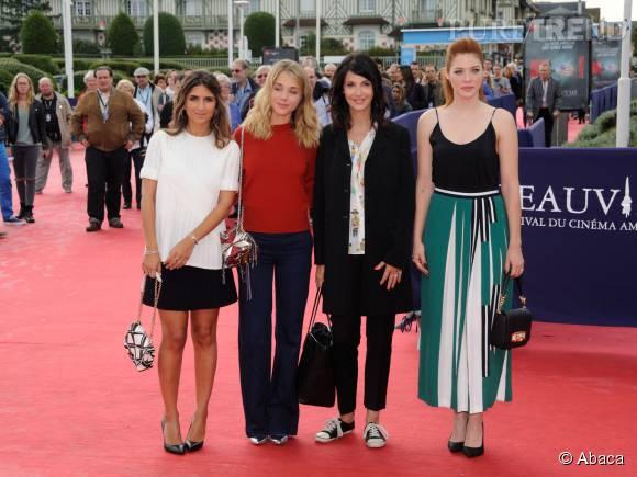 """Géraldine Nakache à la première de """"99 Homes"""" au Festival du Film américain de Deauville le 5 septembre 2015."""